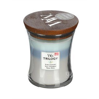 WoodWick Trilogy Medium Jar Woven Comforts